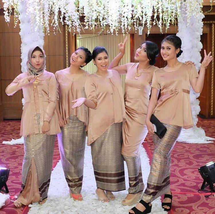 Contoh Kebaya Pesta 2017