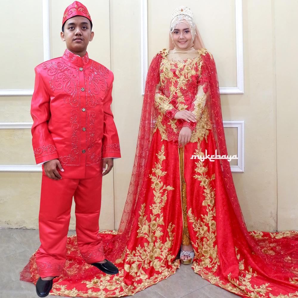 Couple Kebaya Pengantin CP098 Toko Spesialist Kebaya